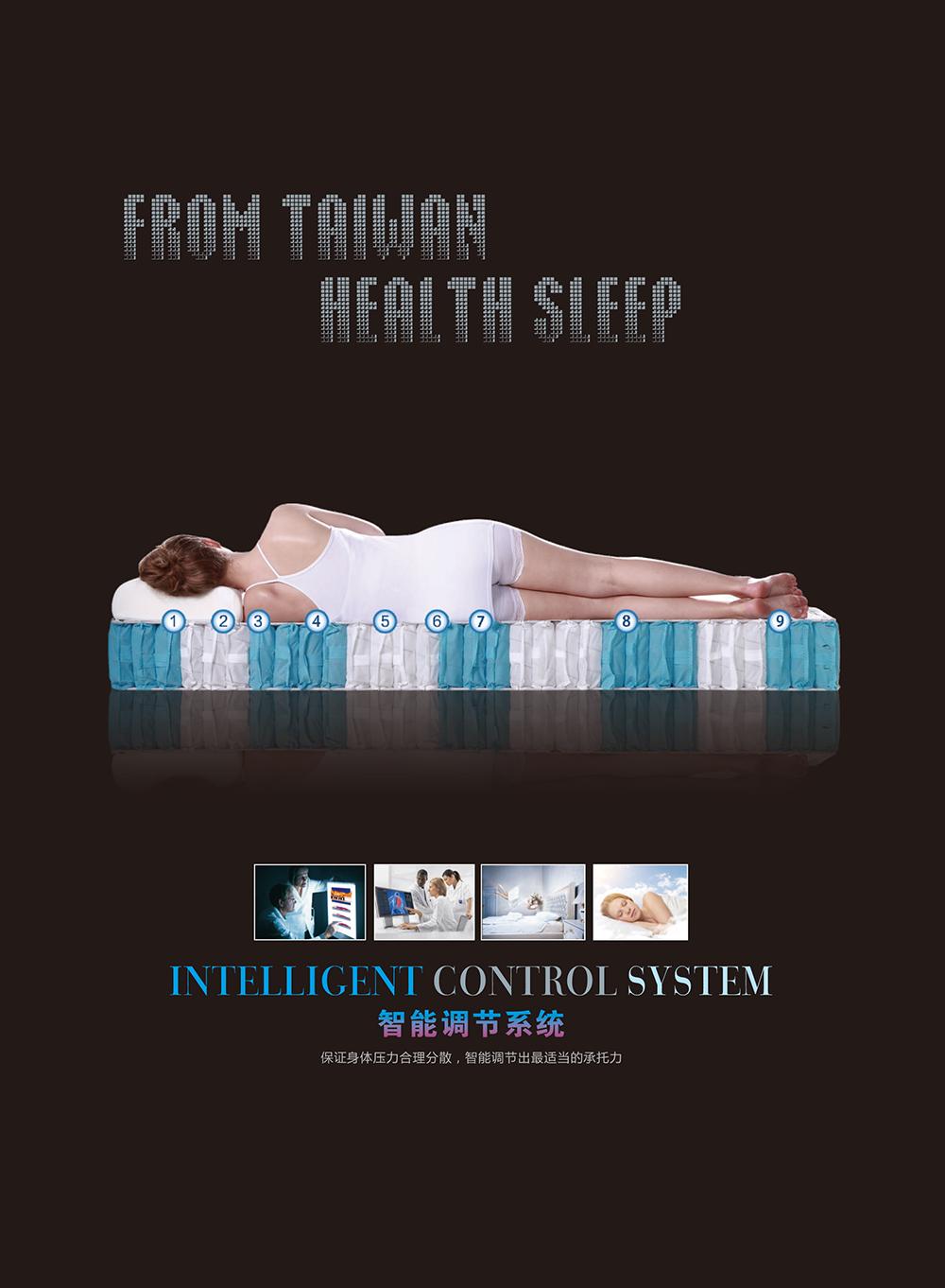 昆明神工早睡早起标准型床垫