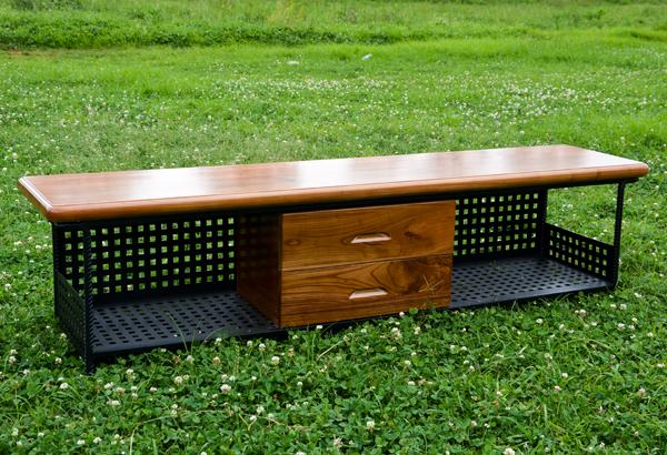 鋼木家具-電視柜