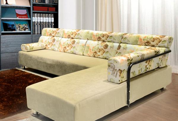 鋼木家具-6622噴塑 2+3+貴妃 沙發