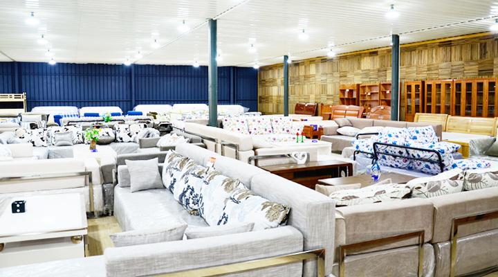云南各種鋼木家具沙發價格