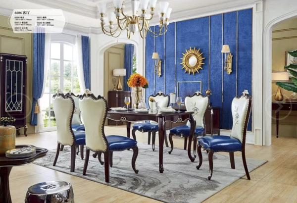 客廳橡木家具餐桌