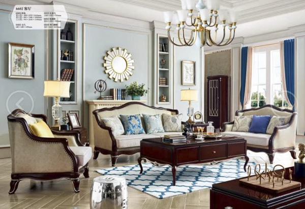 客廳橡木組合家具