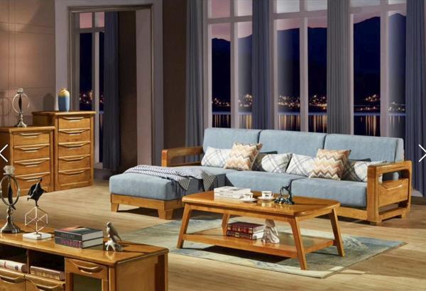 客廳橡木沙發家具