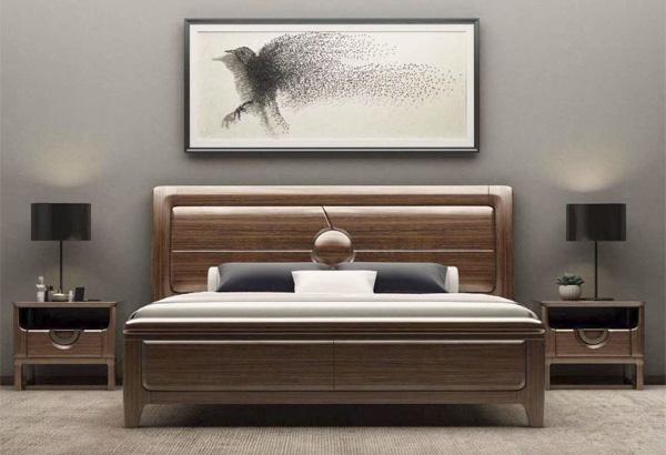 金屬家具床