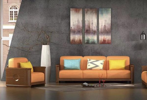 金屬家具沙發效果圖