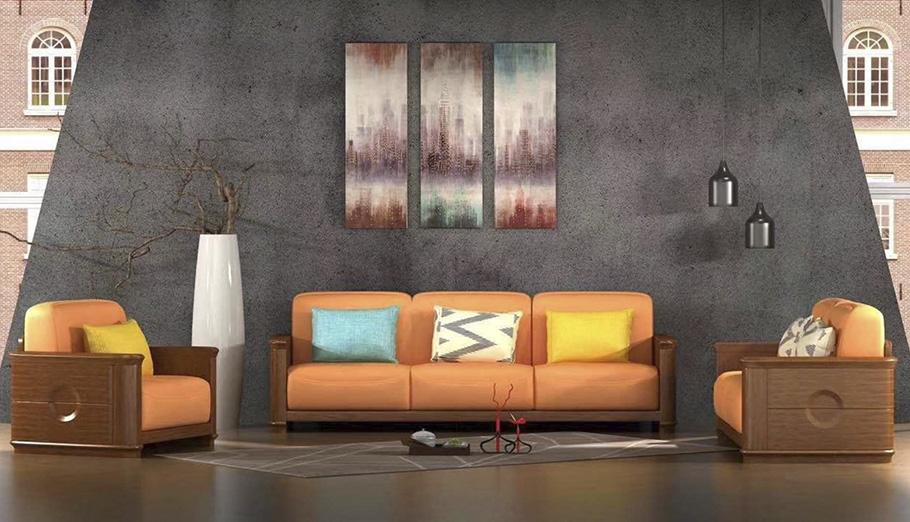 金屬家具沙發效果圖展示