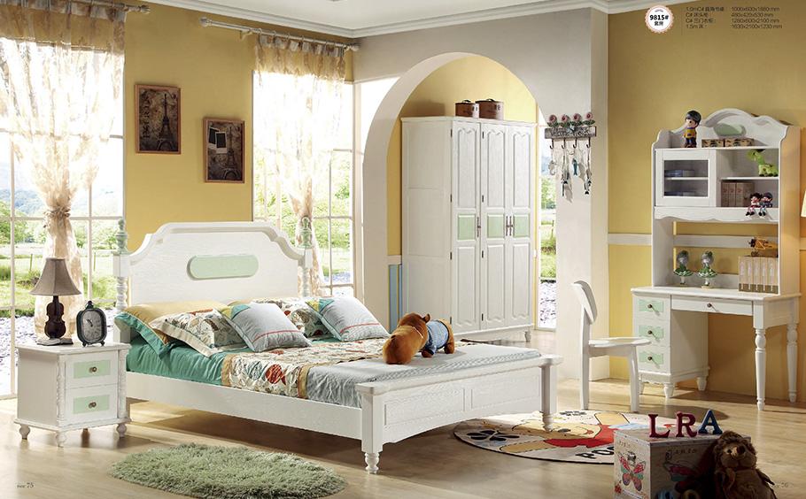 昆明神工1.5米兒童家具床生產廠家兒童家具效果圖展示