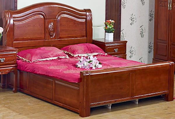 榆木家具臥式床