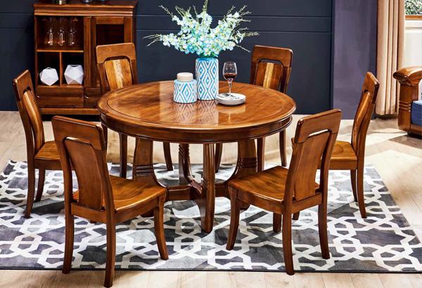 實木家具餐桌椅圖片