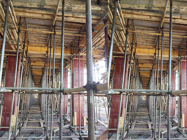 建筑工程塑料模板施工