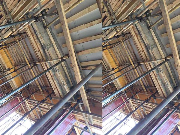 民屋建筑塑料模板施工