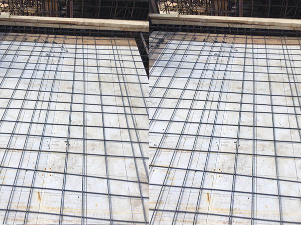 建筑隔层塑料模板施工