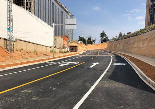 火車站道路瀝青路面施工