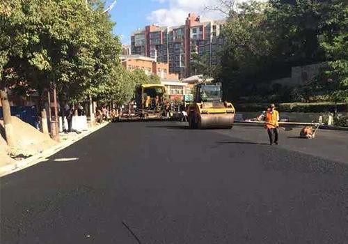 醫院道路瀝青路面施工