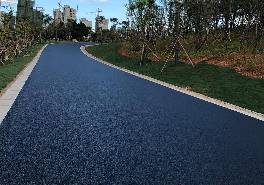高鐵站道路瀝青路面施工