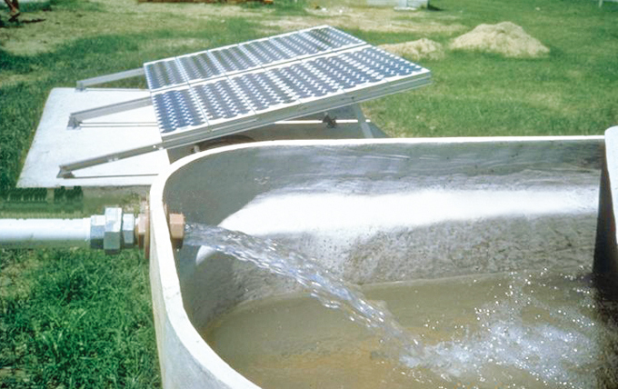 光伏提水致力于恢复我国缺水现象