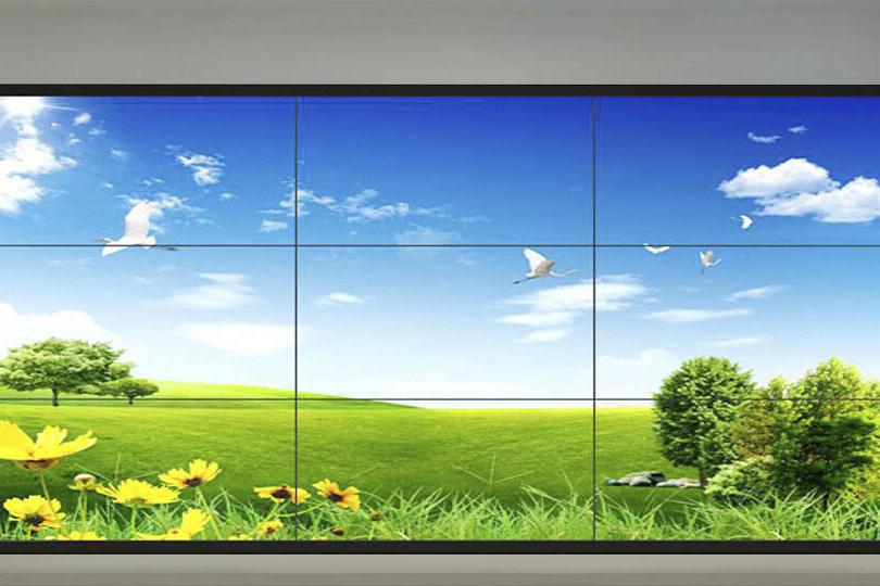 云南46寸拼接屏,昆明46寸3×3液晶拼接大屏