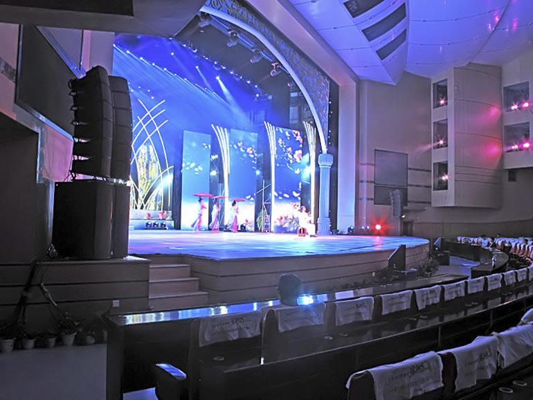 昆明舞台演艺扩声系统,云南舞台演出扩声系统