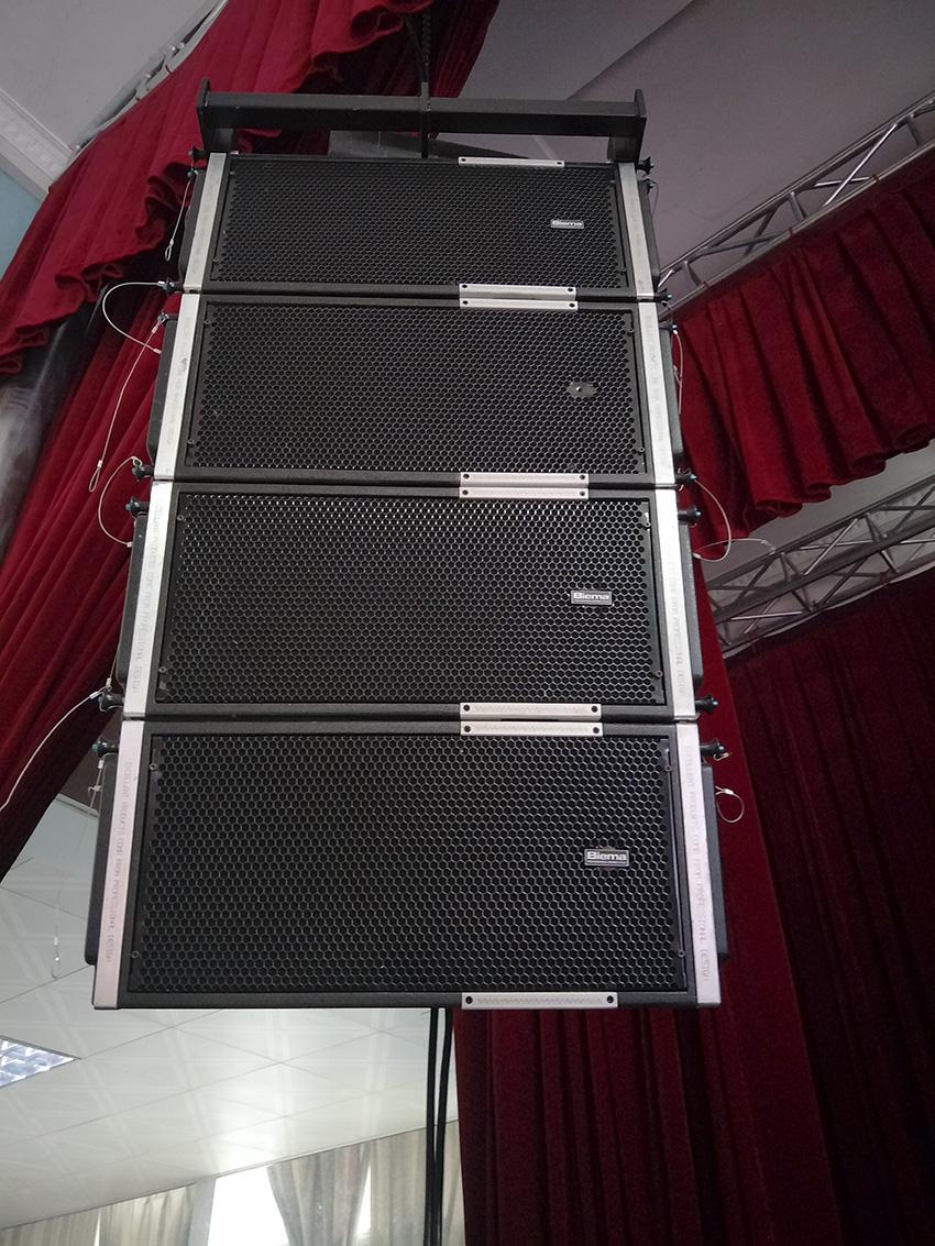 昆明舞台演出扩声系统音响