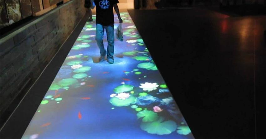 地面互动投影设备的客户内容需求与技术要求