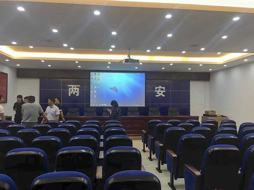 贵州会议室扩声系统安装案例