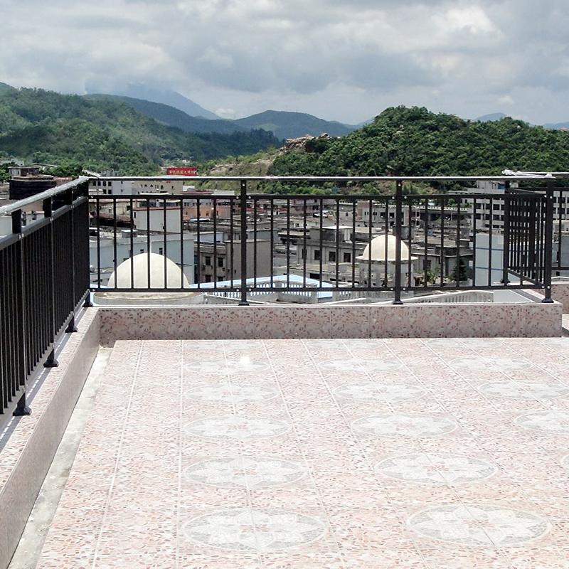 屋顶锌钢护栏