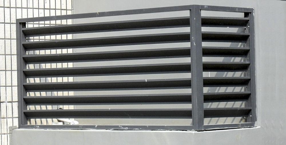 室外锌钢空调护栏
