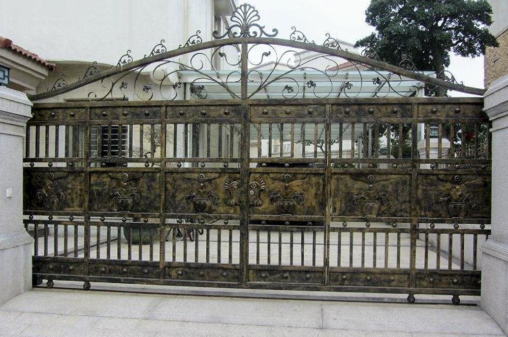 锌钢庭院大门