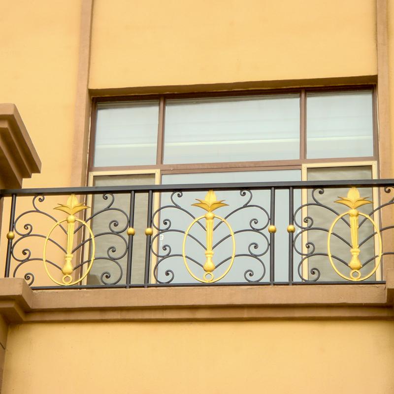 别墅高档锌钢阳台防护栏