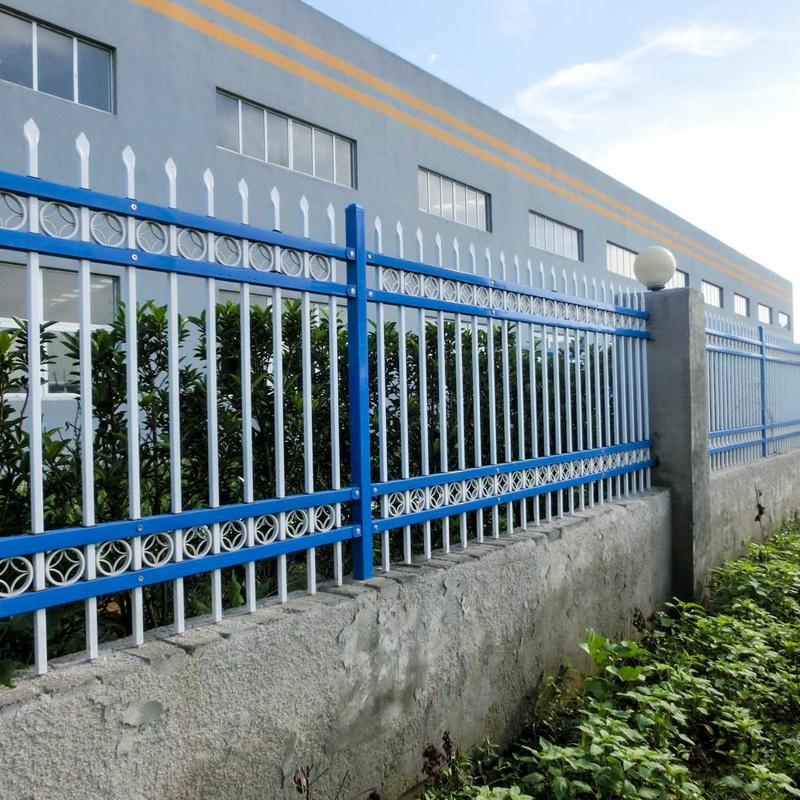 工厂锌钢围墙护栏