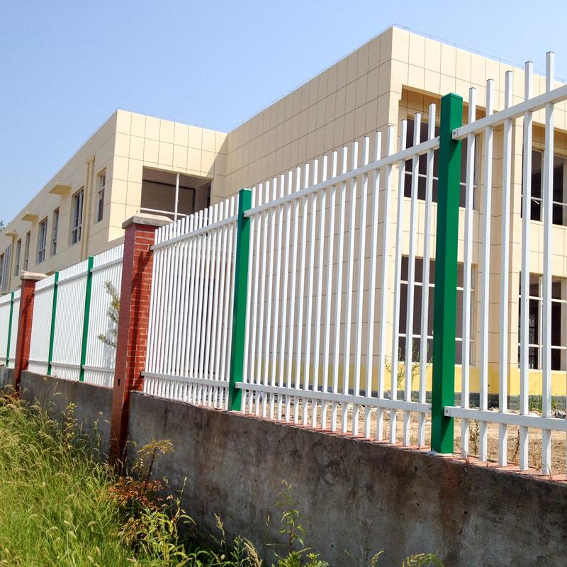 工厂锌钢围墙护栏栅栏