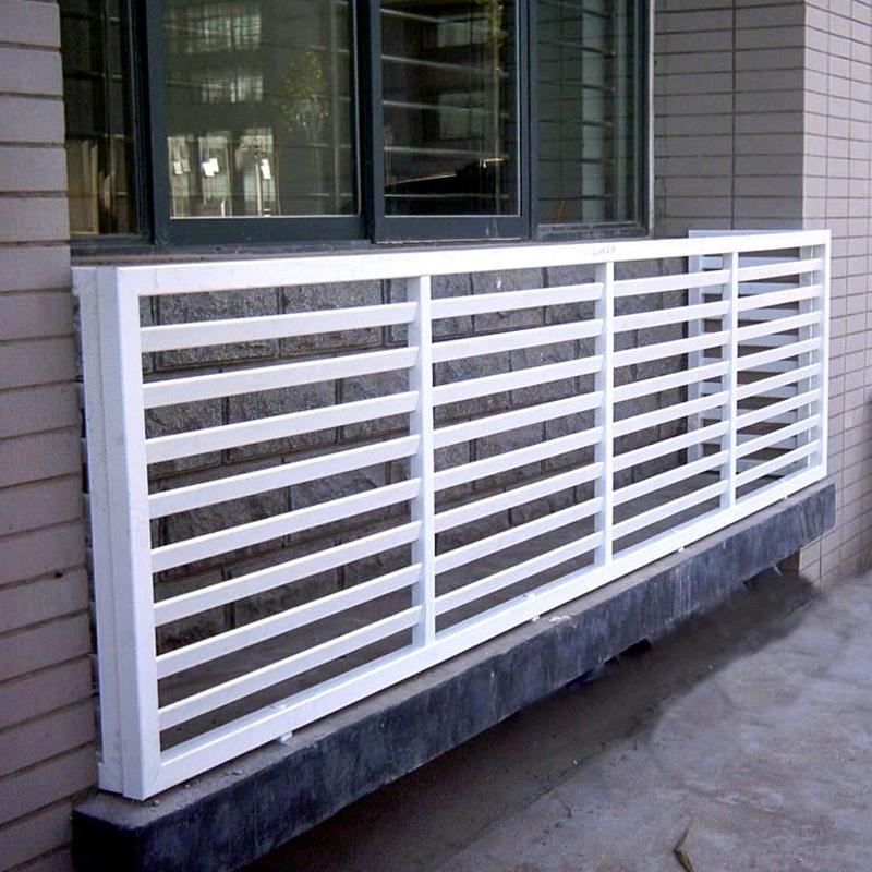 PVC空调锌钢护栏