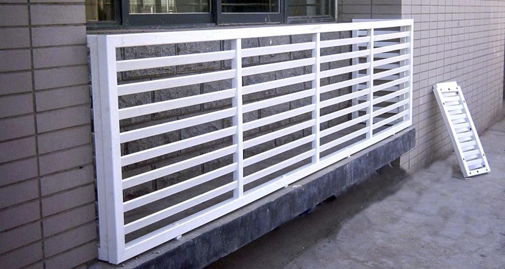 锌钢空调护栏PVC空调护栏