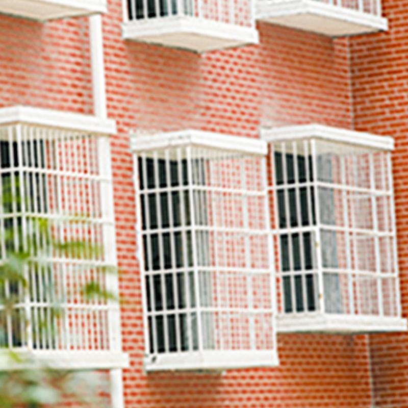 凸出式锌钢防盗窗