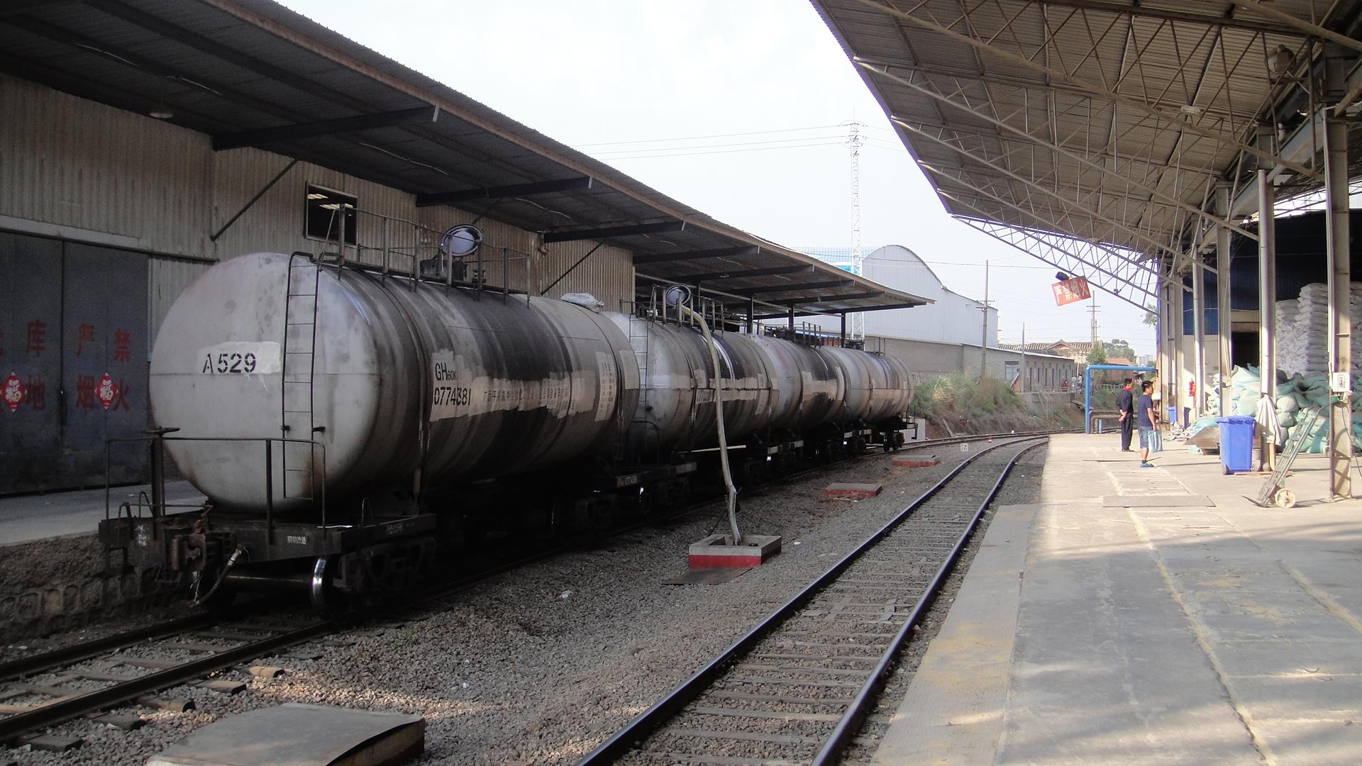 王家营专用线中转库区-卸油专线