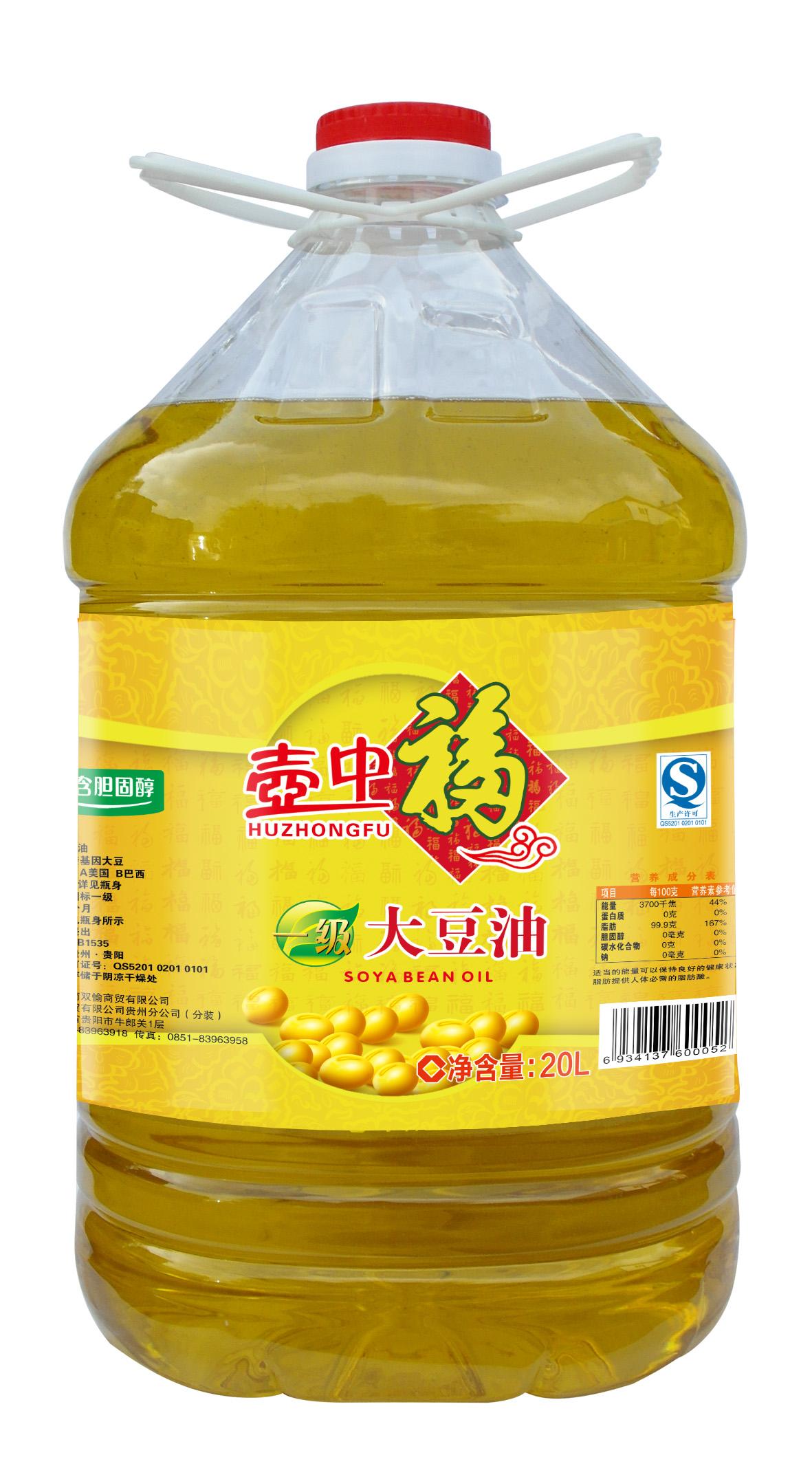 壶中福大豆油
