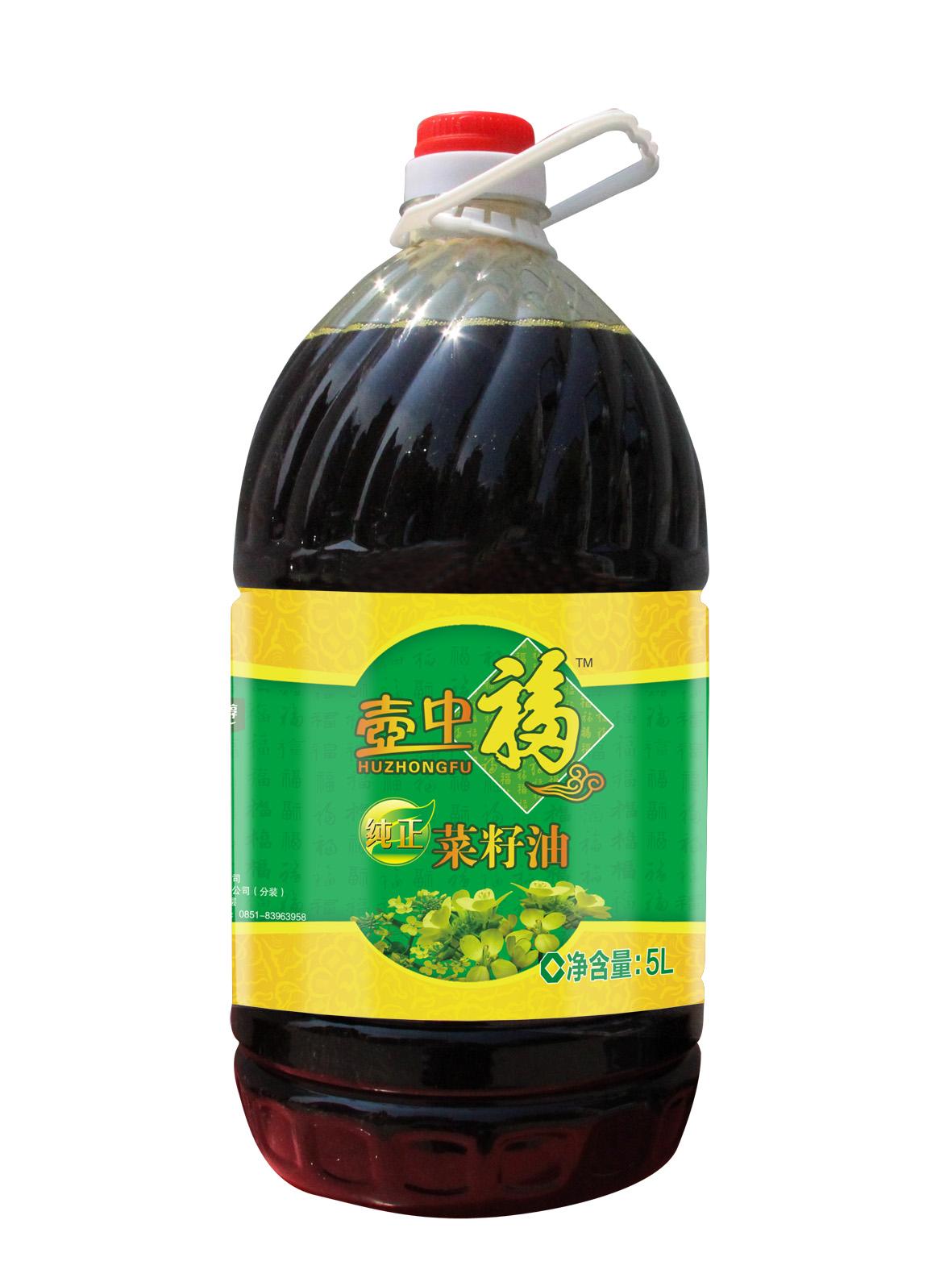 壶中福纯正菜籽油