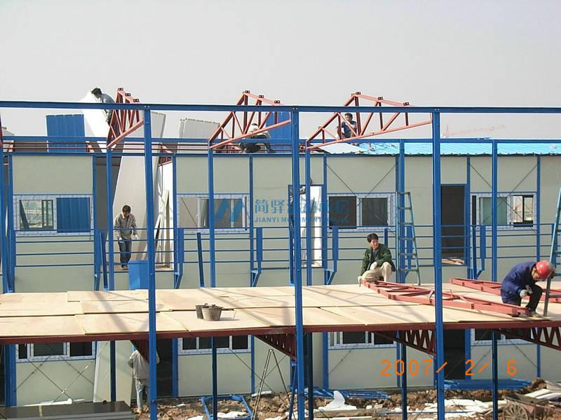 如何搭建一个经得起符合质量考核的活动房?