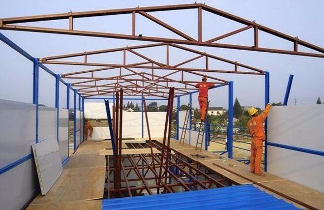怎么搭建安装活动板房?