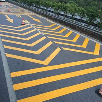 道路标线厚度不够的原因和解决方法