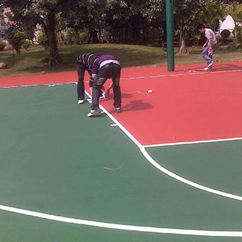 篮球场标线