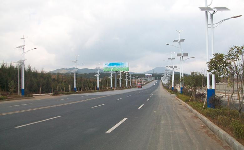 云南交通标线工程案例