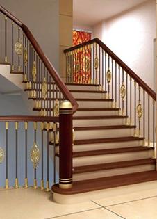 云南铜扶手楼梯高度多少合适你知道吗?