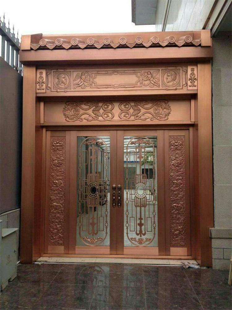 怎样对玻璃铜门进行维护?玻璃铜门保养方法