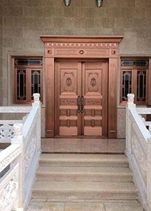 云南铜门厂家提示:铜门选购性能重于外表