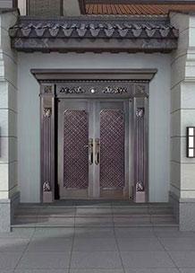昆明铜门厂家揭密铜门对比普通门的优势所在