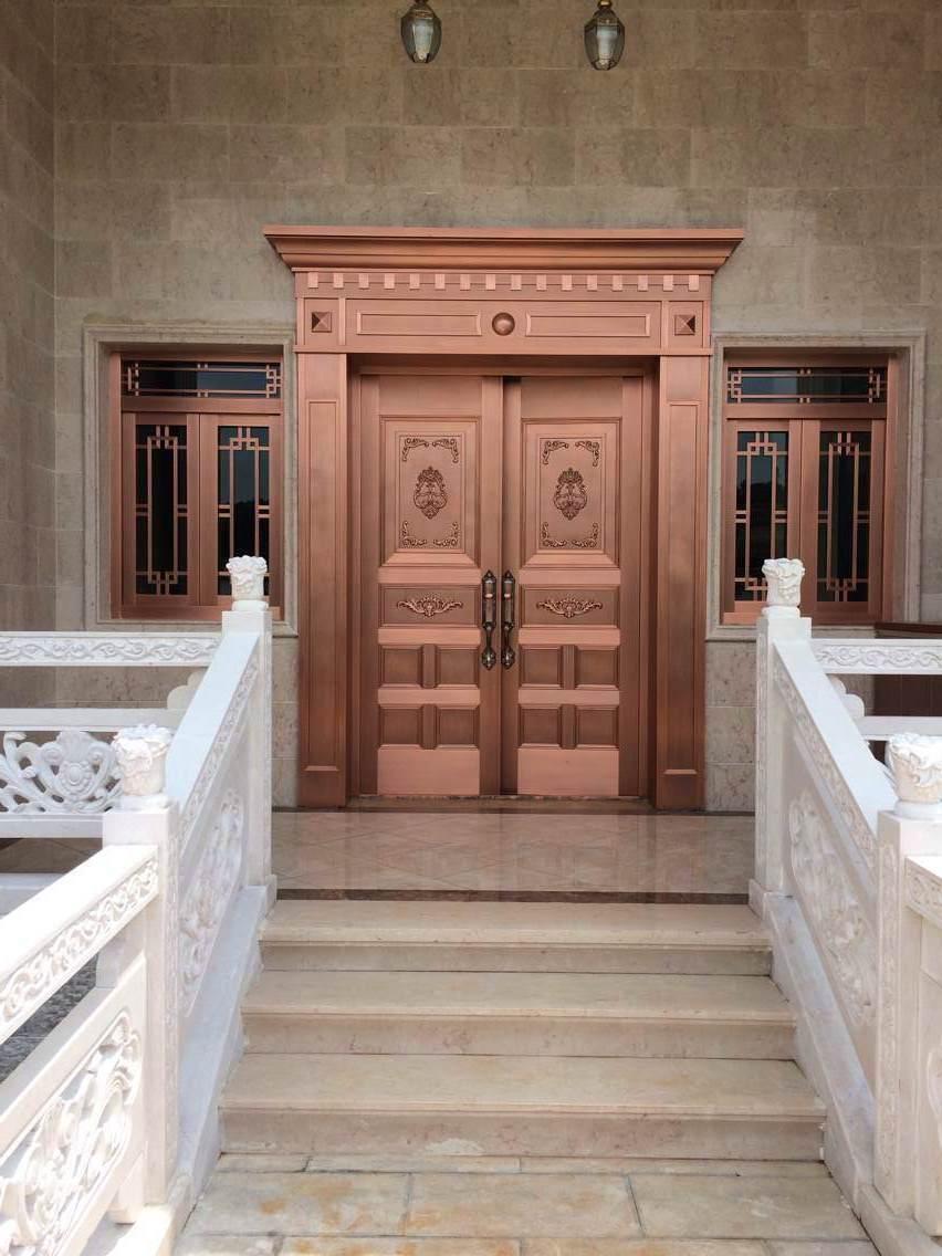 为什么客户都喜欢选择非标定制铜门?云南铜门厂家为您揭晓