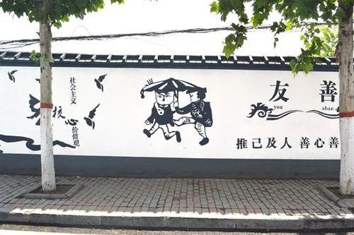 墙体彩绘广告制作