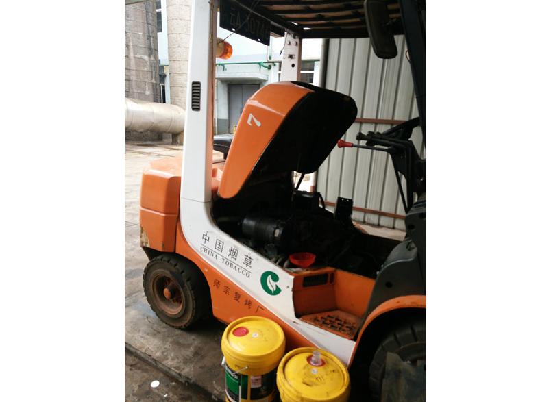 定期保养昆明叉车是安全高效工作的有力保证