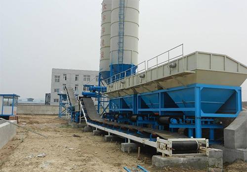 氣控系統在90混凝土攪拌站配料過程中的作用
